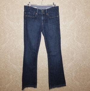 Gap dark wash Perfect Boot jeans